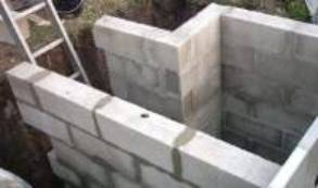 Murs en parpaings