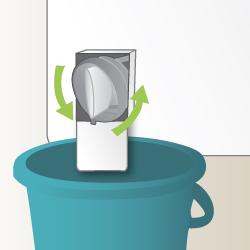 Nettoyage du filtre de la pompe