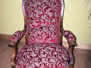 Un fauteuil revêtu