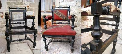Un fauteuil à restaurer
